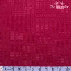 Westfalenstoffe - Rosenborg, tiny white dots on red