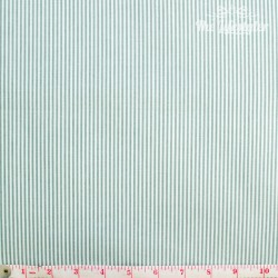 Westfalenstoffe - Copenhagen, woven stripes green/white