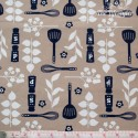 Westfalenstoffe - Kitchen, utensils, blue