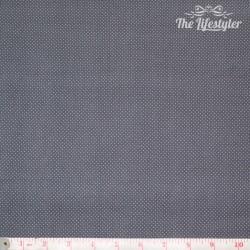 Westfalenstoffe - Rosenborg, tiny white dots on charcoal