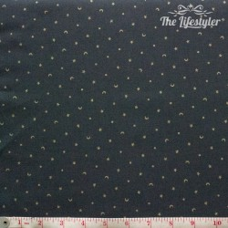 Westfalenstoffe - Noel, tiny stars on anthracite
