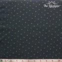 Westfalenstoffe - Noel, tiny stars on anthracite