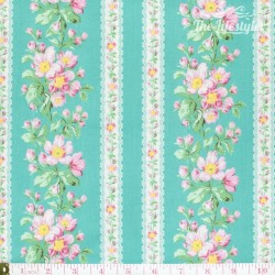 Free Spirit - Snapshot designed by Verna Mosquera, Blooming Border Stripe mint