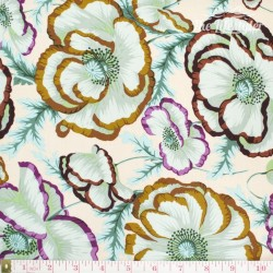 Kaffe Fassett: Phillip Jacobs for Rowan, Banded Poppy peach