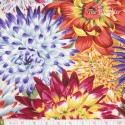 Kaffe Fassett: Phillip Jacobs for Rowan, Cactus Dahlias natural