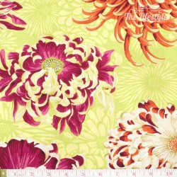 Kaffe Fassett: Phillip Jacobs for Rowan, Floating Mums lime