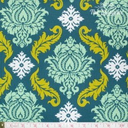Free Spirit - True Colors by Joel Dewberry, Damask turquoise