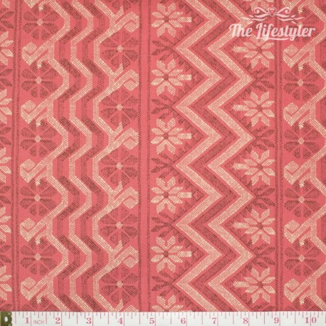 Free Spirit - Bright Heart by Amy Butler, Cosmo Wave papaya
