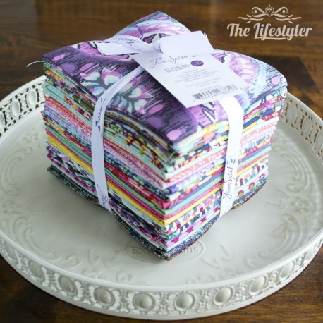 Free Spirit Eden by Tula Pink, Fat Quarter Bundle of 25 pieces
