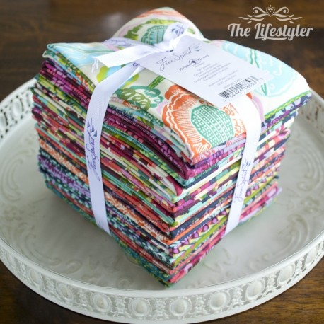Free Spirit Bright Heart by Amy Butler, Fat Quarter Bundle of 28 pieces