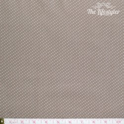 Westfalenstoffe - Gent/Capri, tiny white dots on taupe