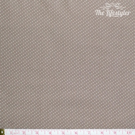 Westfalenstoffe - Gent, tiny white dots on taupe