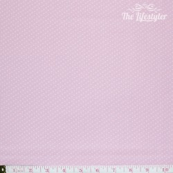 Westfalenstoffe - Capri, tiny white dots on pink