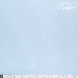 Westfalenstoffe - Capri, tiny white dots on light blue