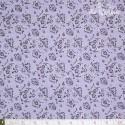 Westfalenstoffe - Torino, floral paisley on lavender
