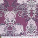 Westfalenstoffe - Torino, paisley on burgundy