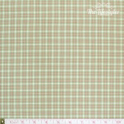 Westfalenstoffe - Wales woven small checks pink/green/white