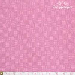 Westfalenstoffe - Wales tiny white dots on pink