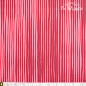 Westfalenstoffe - Young line red stripes on pink, organic