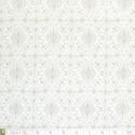 Westfalenstoffe - Torino, taupe damasks on off white