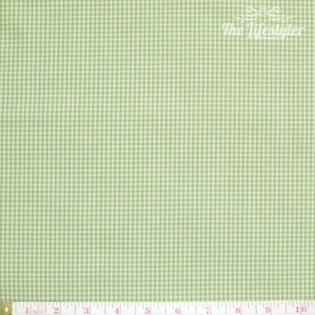 Westfalenstoffe - Wales woven tiny Vichy green/light green