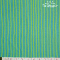 Westfalenstoffe - Young line blue/green stripes