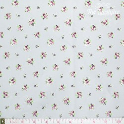 Westfalenstoffe - Princess tiny roses on grey