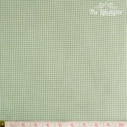 Westfalenstoffe - Kitzbuehel woven tiny Vichy green/white