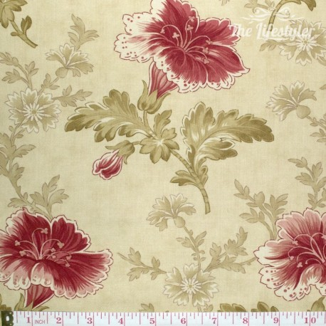 moda - Autumn Lily, flowers, cream