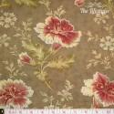 moda - Autumn Lily, wooden trellis, taupe
