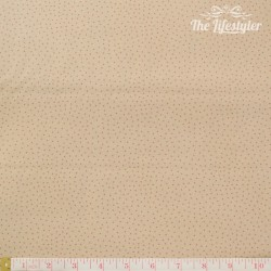 Westfalenstoffe - Lugano pink dotties on beige