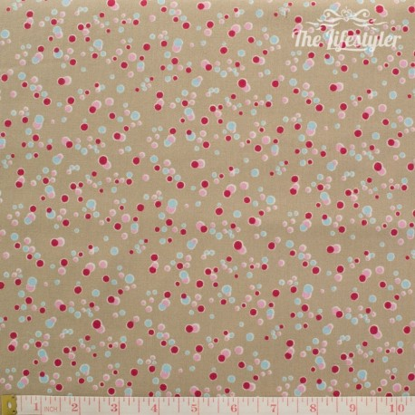 Westfalenstoffe - Sylt, bubbles on taupe