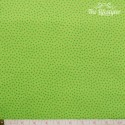 Westfalenstoffe - Young line green dotties on light green
