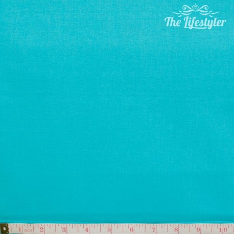 Westfalenstoffe - Young line solid turquoise, organic