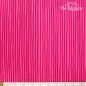 Westfalenstoffe - Young line pink stripes on light pink, organic