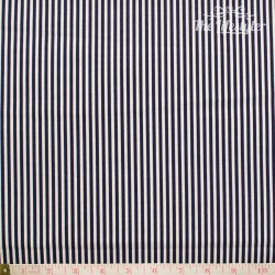 Westfalenstoffe - Capri/Hamburg, blue and white stripes