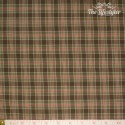 Westfalenstoffe - Linz woven check brown/green/pink