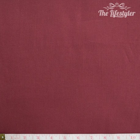 Westfalenstoffe - Lugano woven solid dark red