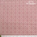 Westfalenstoffe - Lugano red damasks on beige