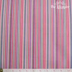 Westfalenstoffe - Indian Summer woven multicolour stripes