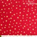 Westfalenstoffe - Trondheim red with stars