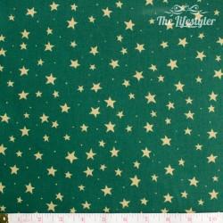 Westfalenstoffe - Trondheim green with stars