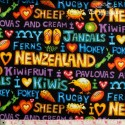 "NZ Fabric - ""Kiwi Kapers"""