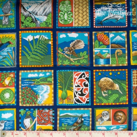 "NZ Fabric - ""Images of Aotearoa"""