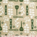 Westfalenstoffe - Kitchen, utensils, green