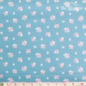 Westfalenstoffe - Princess roses on light blue