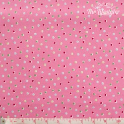 Westfalenstoffe - Wales random dots on pink