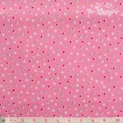 Westfalenstoffe - Wales random dots on pink