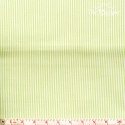 Westfalenstoffe - Rosenborg/Capri, woven tiny stripes light green/white
