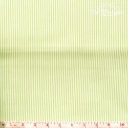 Westfalenstoffe - Rosenborg/Capri, woven tiny stripes light green/white